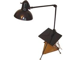 Lampa podłogowa ze stolikiem, lata 60.