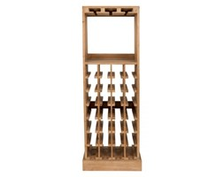 HomeHood Barek drewniany / szafka na wino Claude