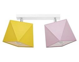 Lampa sufitowa z abażurem DIAMENCIK II szer. 50cm [abażur do wyboru]