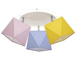 Lampa sufitowa z abażurem DIAMENCIK III śr. 40cm [abażur do wyboru]