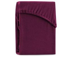 Bordowe elastyczne prześcieradło dwuosobowe AmeliaHome Ruby Dark Cherry, 220-240x220 cm