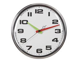 zegar metalowy ścienny