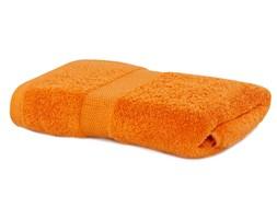 DecoKing - Ręcznik kąpielowy gładki - Marina - Pomarańczowy