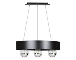 MORTEN 3 BLACK 222/1 nowoczesna lampa wisząca regulowana czarna dodatki chrom
