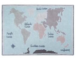 Dywan bawełniany Vintage Map / Mapa - Lorena Canals