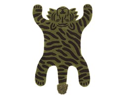 Dywanik wełniany SAFARI Tygrys - ferm LIVING