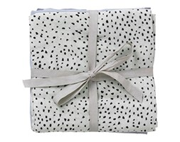 Muślinowe pieluszki Mint Dot 70 x 70 cm - ferm LIVING | 3 szt.