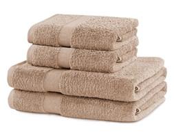 DecoKing - Komplet Ręczników Bawełnianych Beżowy MARINA GŁADKIE
