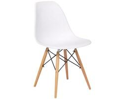 Nowoczesne krzesła skandynawskie - białe