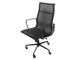 Fotel biurowy AERON PREMIUM czarny - tkanina, aluminium