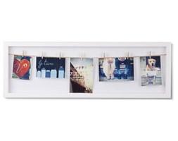 UMBRA ramka na zdjęcia CLOTHESLINE FLIP biała