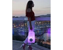 NEW GARDEN lampa przenośna FARALAY PLAY biała - LED, wbudowany głośnik