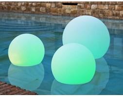NEW GARDEN lampa ogrodowa BULY 30 FLO biała - LED, pływająca