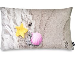 Poduszka z wypełnieniem z łusek gryki Foonka 50 x 30 cm plaża