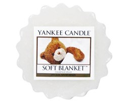 Yankee Candle wosk zapachowy do kominka tarta zapachowa - Soft Blanket