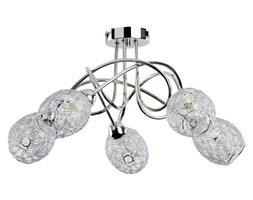 Lampa sufitowa nowoczesna druciana żyrandol VERA V chrom śr. 54cm