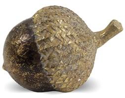 ŻOŁĄDŹ ozdoba, dekoracja jesienna brązowo-złota 12x8x8 cm