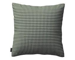 Dekoria Poszewka Kinga na poduszkę, czarno-biała pepitka, 43 × 43 cm, Black & White