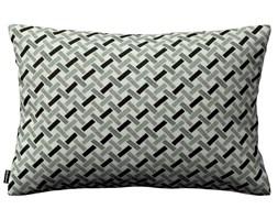 Dekoria Poszewka Kinga na poduszkę prostokątną, czarno-biały, 60 × 40 cm, Black & White