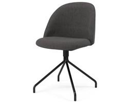 Krzesło Ally Ego antracytowe nogi czarne