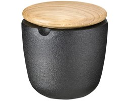 Pojemnik na przyprawy (dębowa pokrywka) ∅6 cm