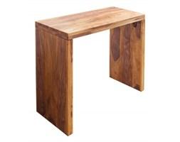 Biurko drewniane 100 cm sheesham handmade loftowe