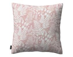 Dekoria Poszewka Kinga na poduszkę, białe gałązki na różowym tle, 43 × 43 cm, Pastel Forest