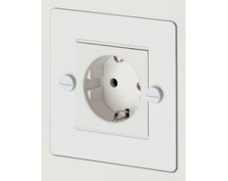 1G Euro Socket - White [C-Mg833]