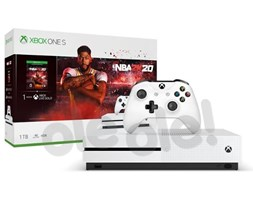 Xbox One S 1TB + NBA 2K20- szybka wysyłka! - Raty 30x0%