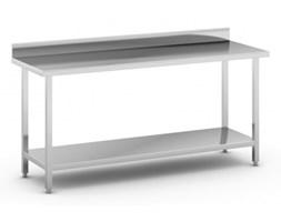 Stół roboczy ze stali nierdzewnej z półką, 1800 x 600 x 850 mm