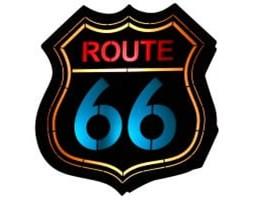 KINKIET 2-PL ARLET ROUTE 66