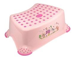 Podnóżek antypoślizgowy dla dziecka kolor różowy