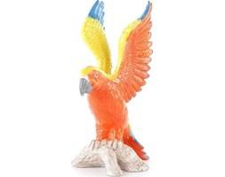 Figurka dekoracyjna Parrot 39x50 cm pomarańczowa