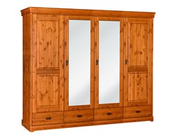 Drewniana sosnowa szafa bejca Toskania 4D