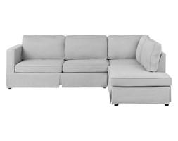 Sofa narożna lewostronna jasnoszara HOLMEN