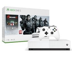Xbox One S 1TB + Gears 5 Standard Edition + kolekcja gier Gears of War- szybka wysyłka! - Raty 30x0%