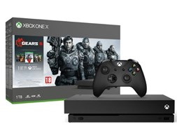 Xbox One X + Gears 5 Standard Edition + kolekcja gier Gears of War- szybka wysyłka! - Raty 30x0%