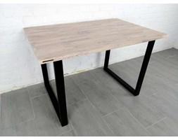 Stół drewniany dębowy drewno i stal Erika