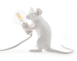 MOUSE-Lampa stojąca Mysz siedząca Żywica Wys.12,5cm