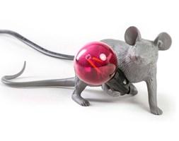 MOUSE-Lampa stojąca Mysz leżąca Żywica Wys.8,1cm