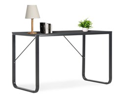 vidaXL Biurko komputerowe, czarne, 120 x 60 x 73 cm
