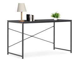 vidaXL Biurko komputerowe, czarne, 120 x 60 x 70 cm
