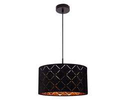 Lampa wisząca SUNNA GLOBO styl nowoczesny metal aksamit 15334H