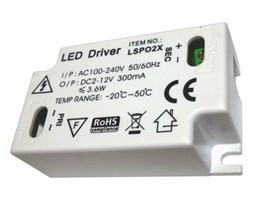 Transformator do taśm LED LS-P02X AC100-240V, DC2-12V