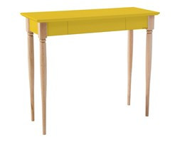 Biurko Mamo 85x40 cm żółte