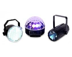 Zestaw efektów świetlnych LED Beamz Light Package 1 3-części