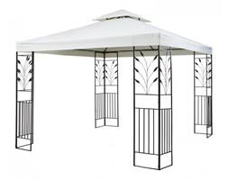 Blumfeldt Odeon Beige Pavillon Namiot imprezowy/namiot stały 3 x 3 m stal/poliester kolor jasnobeżowy