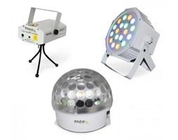 Ibiza BAT-KIT zestaw efektów świetlnych efekt Astro laser Firefly reflektor PAR