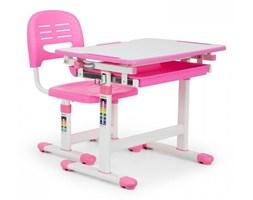 OneConcept Annika biurko dla dziecka z krzeslem rozowy