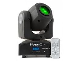 Beamz Panther 40 Ruchoma głowica spotowa LED 45 W 7 efektów Gobo 7 kolorów DMX pilot na podczerwień